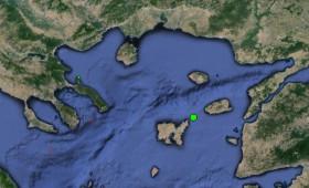 Σεισμός Νότια τής Σαμοθράκης.