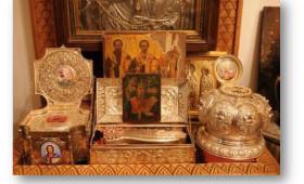 Ρήμαξαν το αγαπημένο μοναστήρι της Μαίρης Χρονοπούλου