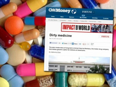 Ranbaxy - Τα φαρμακα δολοφονοι